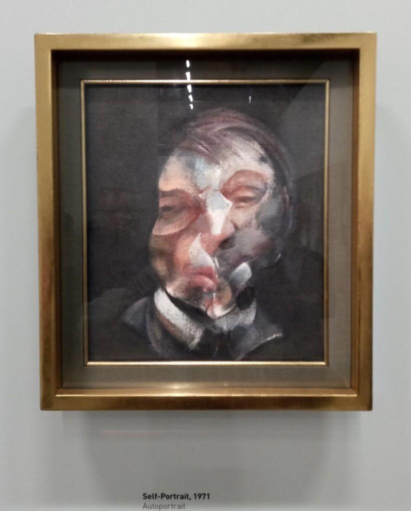 self-portrait. Francis Bacon